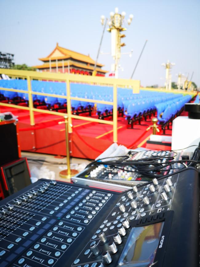 銳豐音響國慶十萬人群眾聯歡活動音響系統揭密圖片