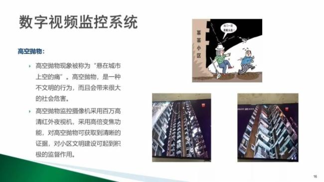 高档住宅小区智能化弱电系统设计方案图片