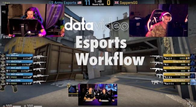 美国专业电竞导播选用 Datavideo 洋铭电竞解决方案