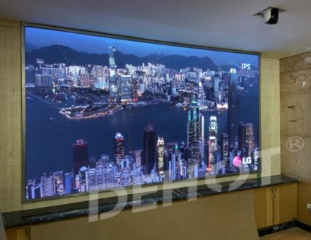 DEHOT德浩视讯高端小间距显示屏助力黄河设计院会议室