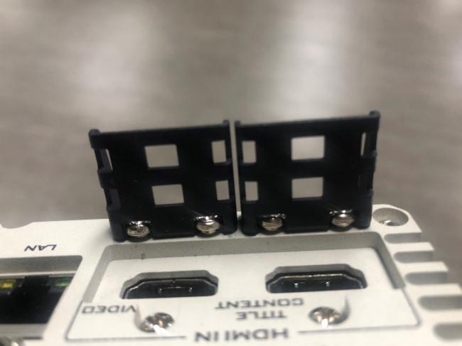 【Datavideo洋銘 攝像科普小單元】HDMI防脫落墊片的重要性