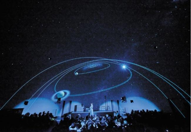 展览展示丨松下投影机点亮柯尼卡东京天文馆