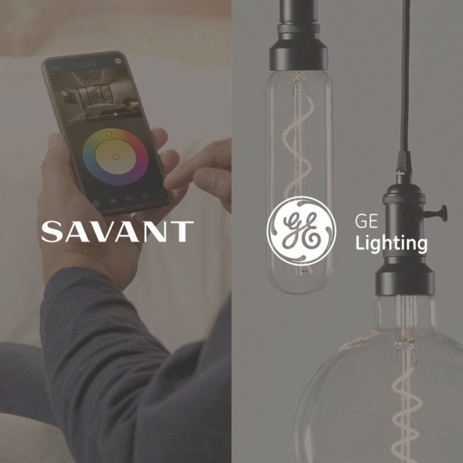 Savant收購通用電氣百年燈光品牌GE Lighting
