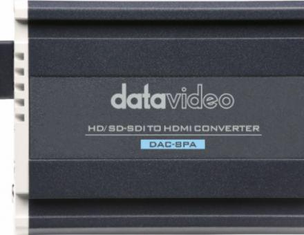 """名副""""器""""实的洋铭新品Datavideo DAC-8PA"""