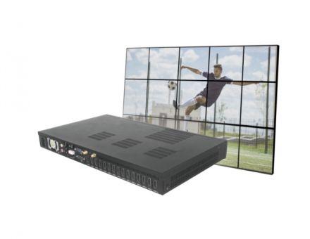 超紧凑多屏拼接 十五屏播放主机杰和科技G1568
