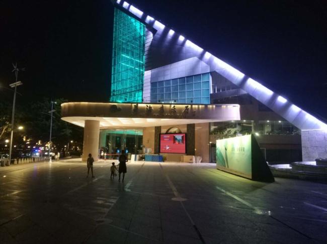 嘉迅LED小间距显示屏系统和广告机系统助力星海音乐厅