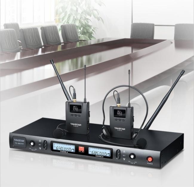無線高保真,多連不串頻!——得勝TS-8807PP分集式無線麥克風震撼上市