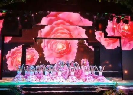 科视Christie 三万流明激光投影机  为芙蓉古镇大型文艺表演带来壮观的视觉效果