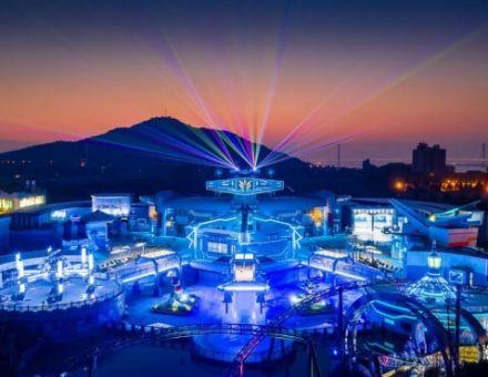 南京欢乐谷光影视界,打造球幕之最!