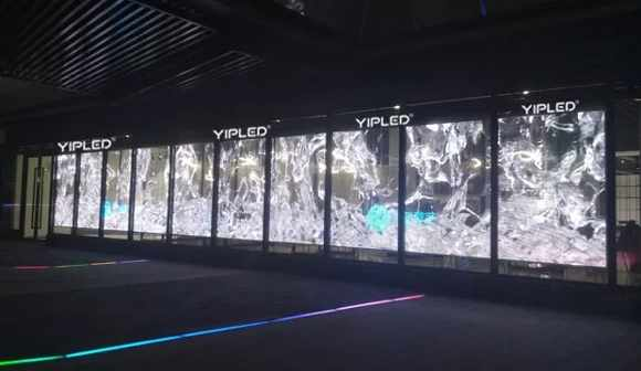 世界VR大会,冰屏启动科幻影像新视觉