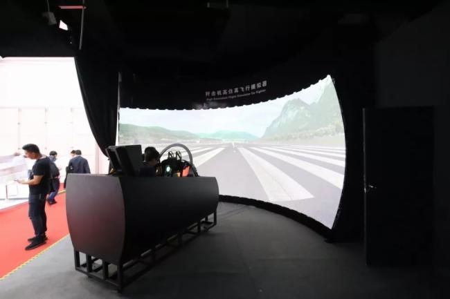 创新技术引领未来——中航国画激光投影机重装亮相2018珠海航展-视听圈