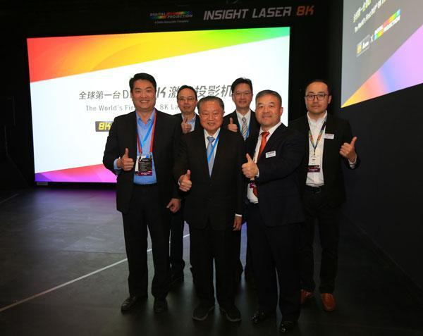 """台达抢占先""""机""""2018 北京InfoComm首发超高分辨率8K DLP投影机"""