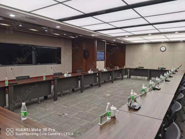 这是为国家电网电力科学研究院搭建的会议系统图片