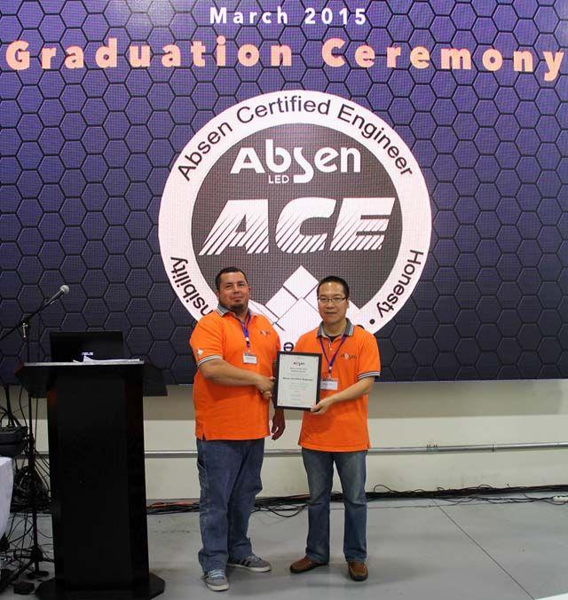 艾比森ACE认证培训美国子公司