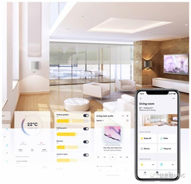 快思聪在ISE 2020上首次展示更多快思聪智能家居新功能和与合作伙伴的设备集成图片