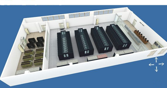 机房监控在微模块机房应用解决方案图片