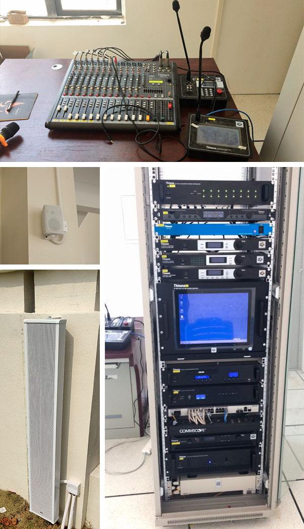 清远市凤翔山湖学校广播系统案例图片