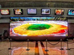 雷曼COB超高清显示屏闪耀深圳广电