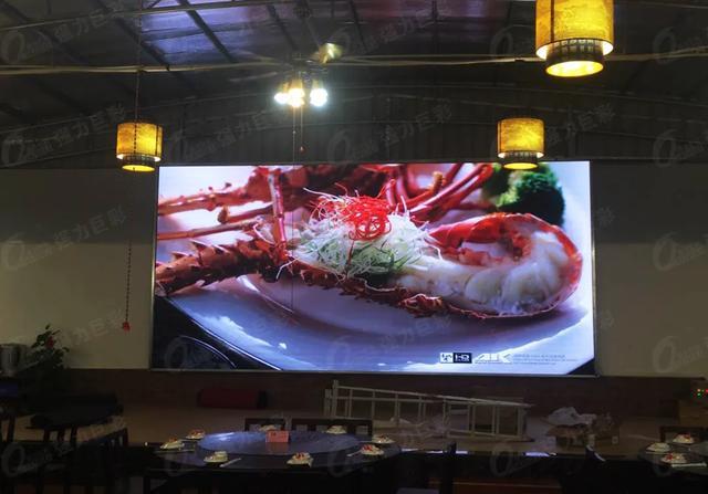 餐饮业加速复苏,用LED大屏让生意更红火