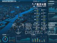 数字冰雹智慧环保大屏可视化决策系统