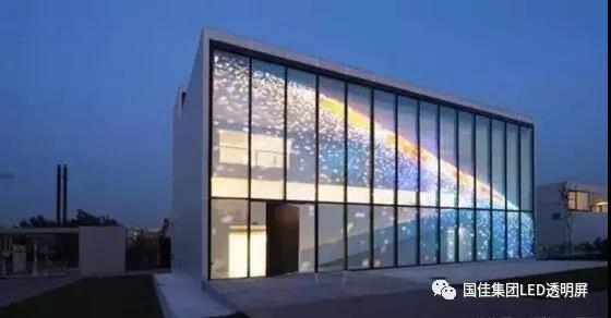 LED玻璃顯示屏在樓體亮化工程中優勢圖片