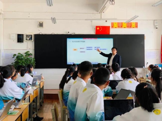 覆盖46个班级,超2700师生!希沃携手云南迪庆州打造智慧课堂