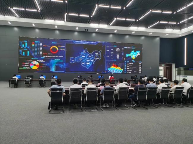 联建光电智慧大屏助力数字政府与智慧公安建设