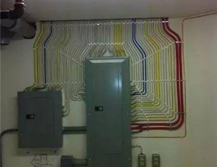 """看看""""别人""""家的弱电综合布线的实际工程图-弱电新人可以学习!"""