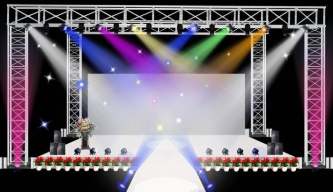 宴会厅舞台灯光