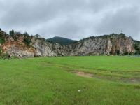 ENNE助力南京汤山矿坑公园崖壁灯光秀