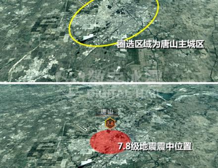 大国之殇,唐山大地震44周年 | 地质灾害数据可视化