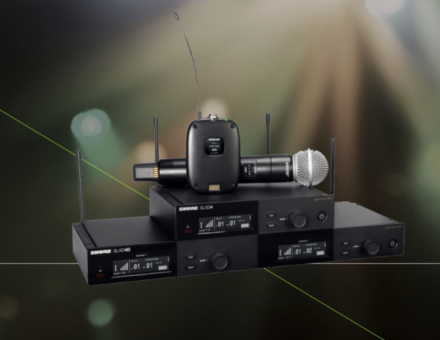 Shure舒尔新品 | SLX-D数字无线系统,全球推出