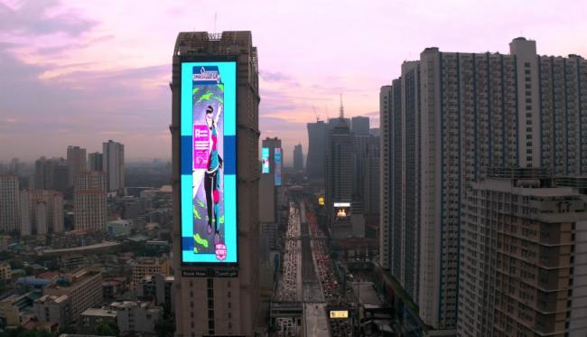 2260㎡!洲明文创打造菲律宾最大户外LED屏洲明造!
