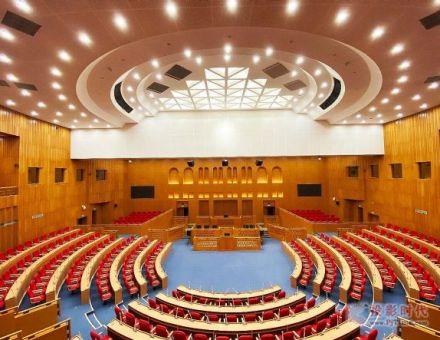 CREATOR快捷千套数字会议系统入驻刚果(布)新议会大厦