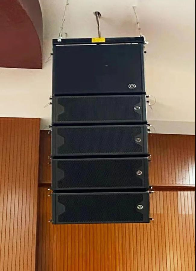 Wharfedale Pro专业扩声系统为江西吉安新干县中医院报告厅保驾护航