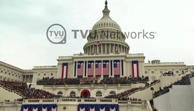 快来预订!TVU为美国总统就职典礼提供实时视频素材源和现场租赁服务