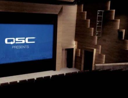 影院+会议 一个QSC影院视听解决方案全搞定