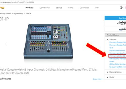 使用教程丨MIDAS PRO調音臺如何升級?只需簡單4步