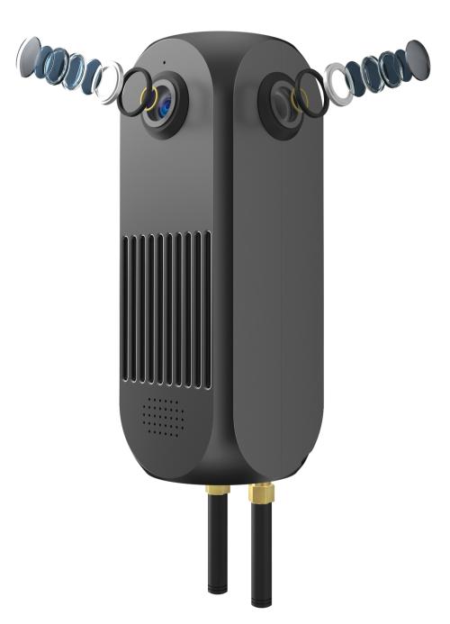 圓周率發布高性能全景直播相機賦能安防監控行業
