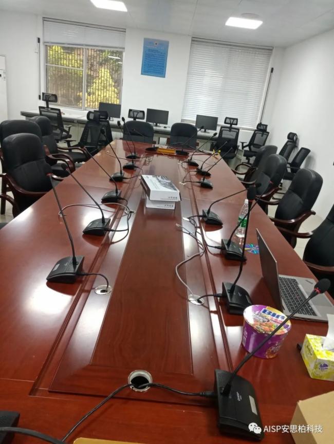 AISP 精选案例 ||广州某军区会议室采用安思柏会议扩声中控矩阵系统!