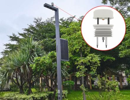 环境监测传感器在智慧路灯智能灯杆解决方案中的应用