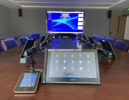 青海省文化和旅游厅应用雷蒙电子会议系统
