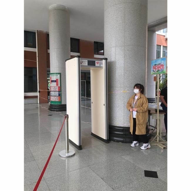 华盾HD-II手机探测门全力护航学生中高考