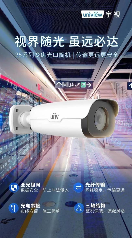 宇視新品 | 4MP變焦光口筒機;800萬4K星光紅外球;守護世界級新地標…