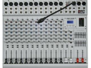 EMX600B  EMX800B  EMX1000B  EMX1200B  EM-EMX600B功放系列调音台