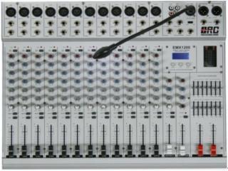 EMX600  EMX800  EMX1000   EMX1200-EMX 600功放系列调音台