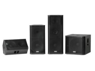 KW122/KW152/KW153/KW181-KW系列有源扬声器