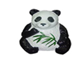BL-215-全天候仿真熊猫草坪音箱(玻璃钢材质)