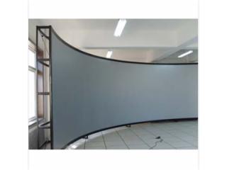 JSM-100-供應 金屬幕 工程金屬幕 3D弧形幕 正投弧形幕