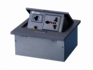 JN-203-c-鋅合金面板彈起式多功能接線盒